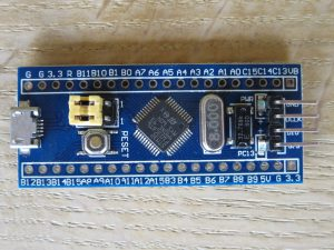 AliExpress STM32C103 back