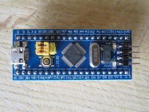 Banggood STM32F103C Front